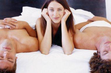 Sexual threesomes